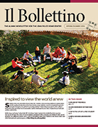 Spring/Summer issue of <em>Il Bollettino</em> newsletter